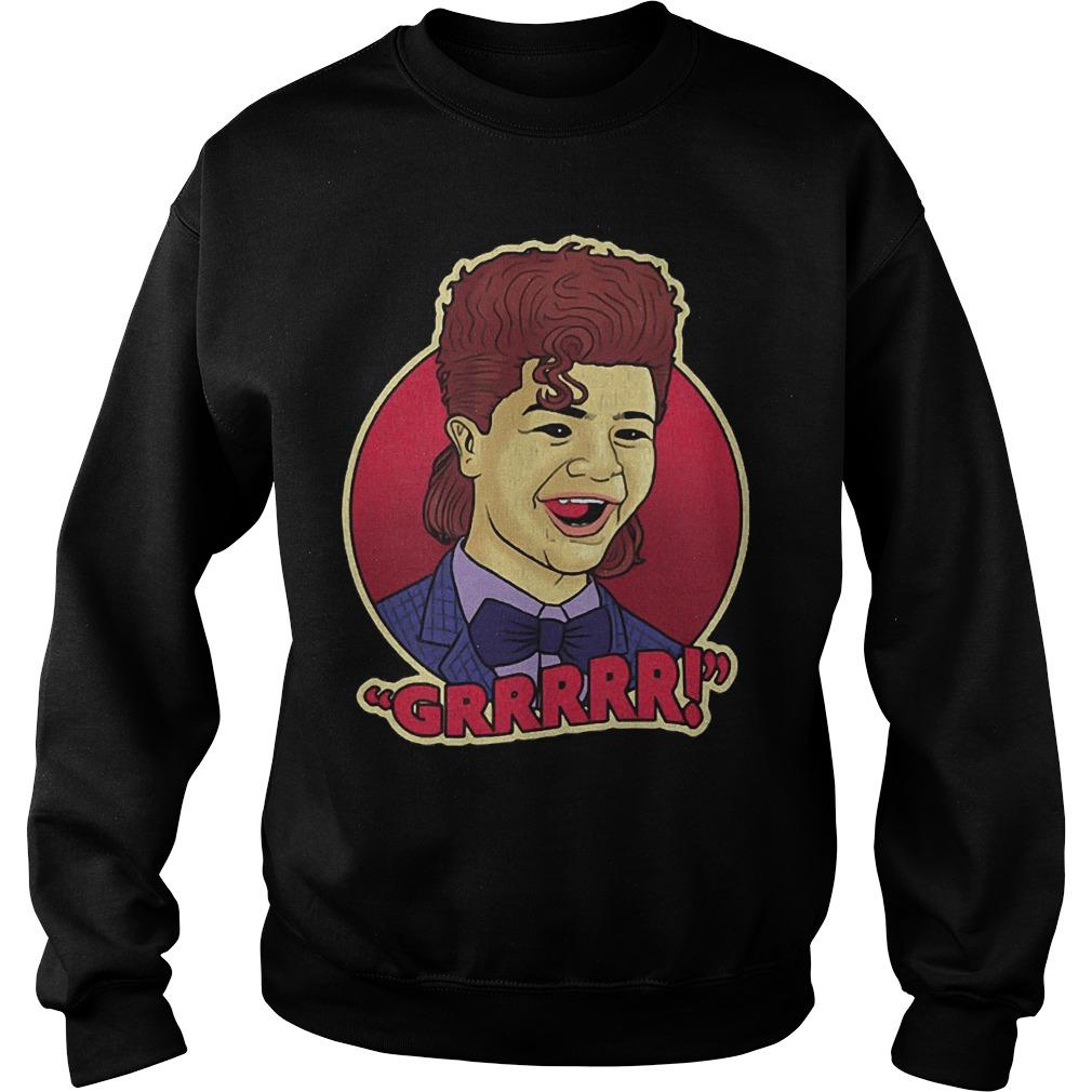 Dustin grrrr stranger things sweater