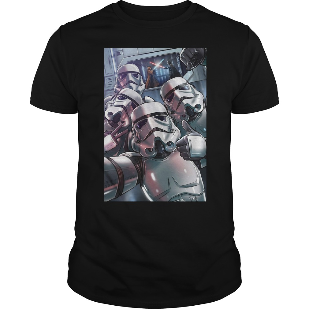 Stormtrooper selfie shirt