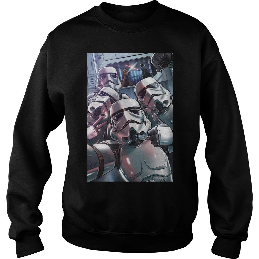 Stormtrooper selfie sweater
