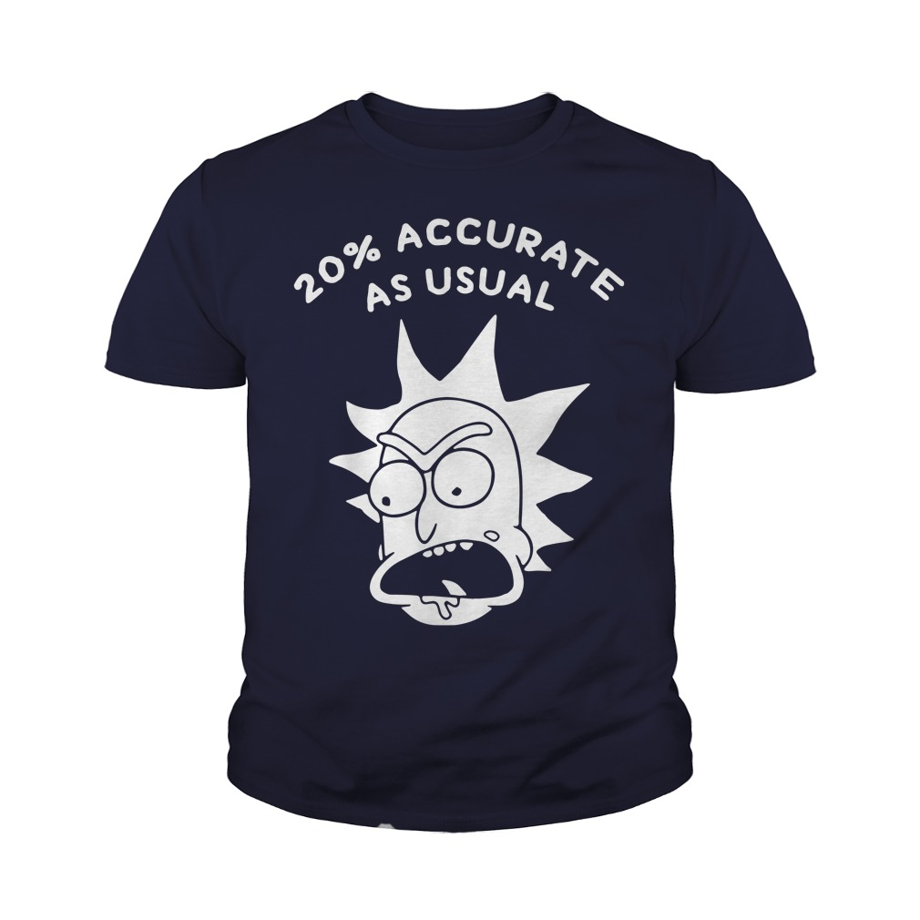 Rick and morty 20% accurate as usual youth