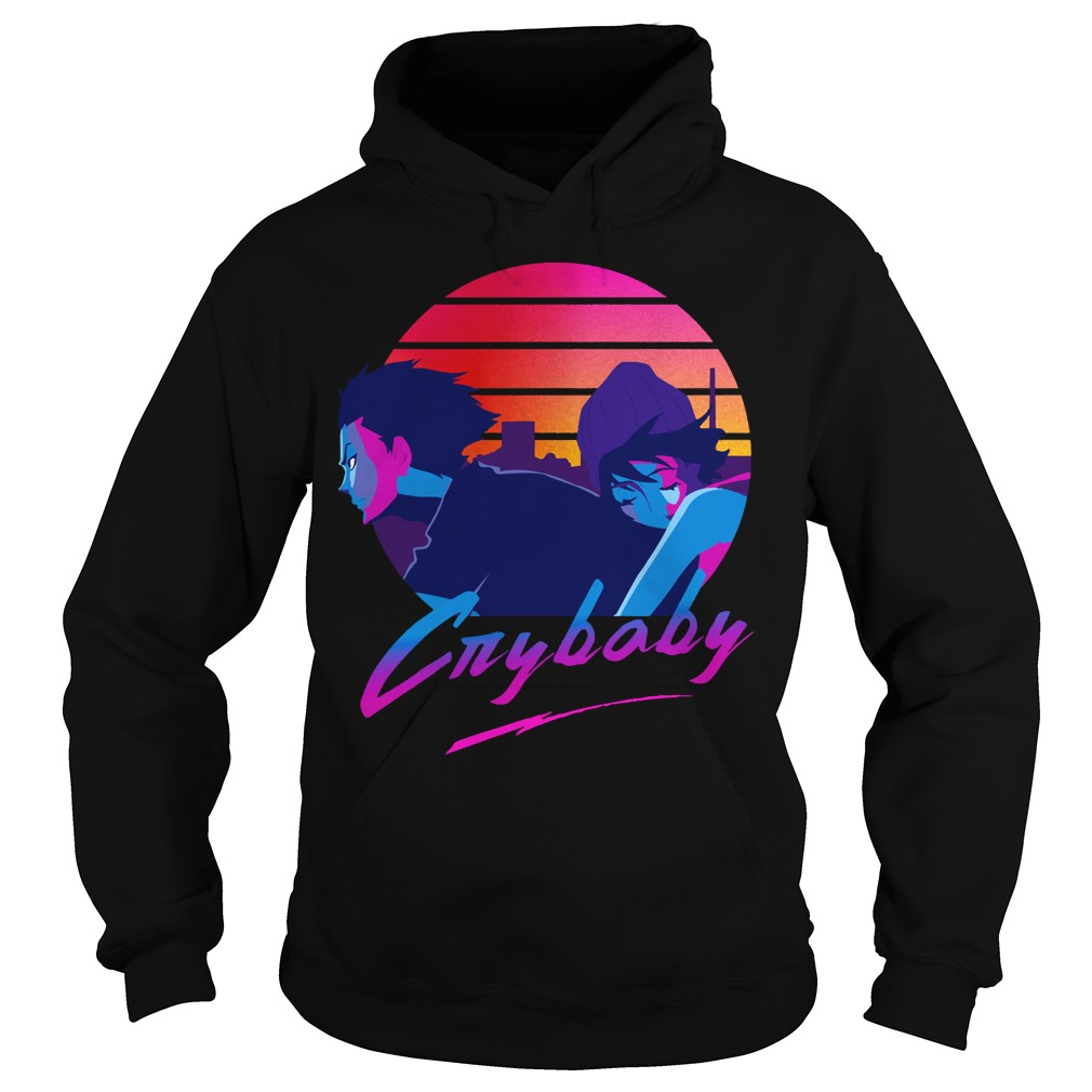 Cry baby hoodie shirt