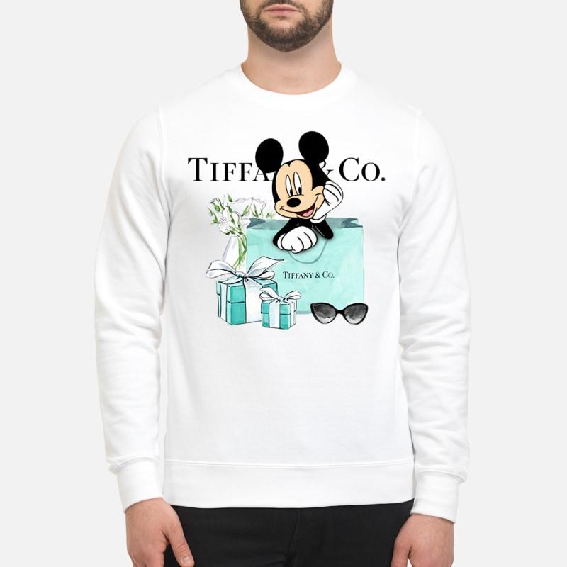 Mickey Tiffany Co sweatshirt