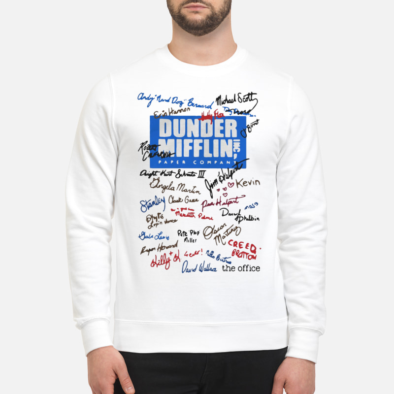 Official Dunder Mifflin Inc paper company shirt